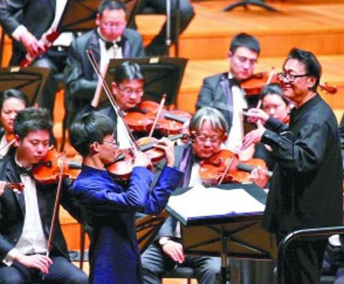 国家大剧院五月音乐节开幕 来听一场弓弦盛宴