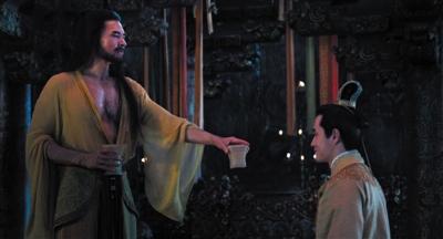 《封神三部曲》:费翔为保持纣王身材一年未喝咖啡